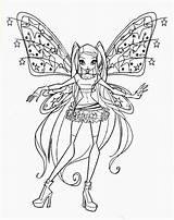Nebula Fate Colorare Coloring Disegni Template sketch template