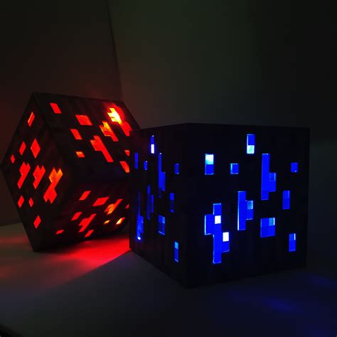 Redstone Lamps At Night by ᗕ2017 New Minecraft Light 169 Up Up Led Toys Redstone Ore