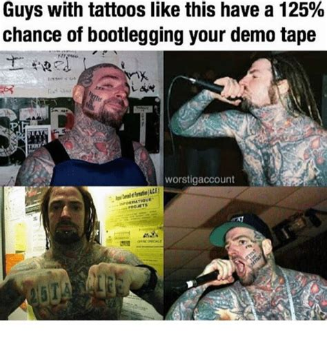 Boys With Tattoos Meme - 25 best memes about guy with tattoos guy with tattoos memes