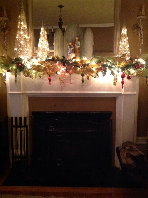 Pin By F F On Holidays Decor Ideas by Mantel Decorations