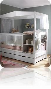Lit Avec Table à Langer : pour dormir le lit barreaux big m little m ~ Teatrodelosmanantiales.com Idées de Décoration