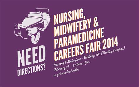 Nursing, Midwifery & Paramedicine Careers Fair 2014