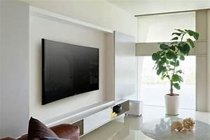 Fernseher Wand Gestalten : fernsehwand ideen f r einen tollen blickfang in wohn schlafzimmer ~ Eleganceandgraceweddings.com Haus und Dekorationen