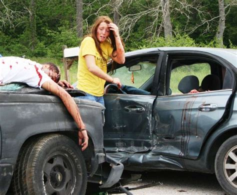 Mock Accident Shows Real Consequences Of Drunk Driving