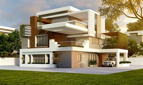 3d Exterior House Design Single Family Home By