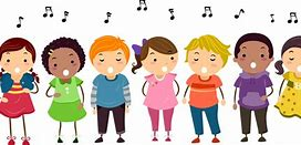 Image result for children singing clip art