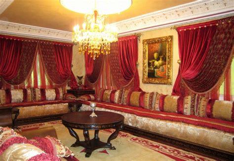 rideaux salon marocain moderne