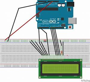 Interfacing 16x2 Lcd With Arduino Without Potentiometer