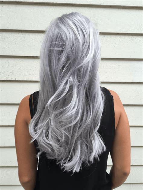Couleur Gris Cheveux Coloration Cheveux Pastel Pour Vous Inspirer De Choisir Votre Couleur