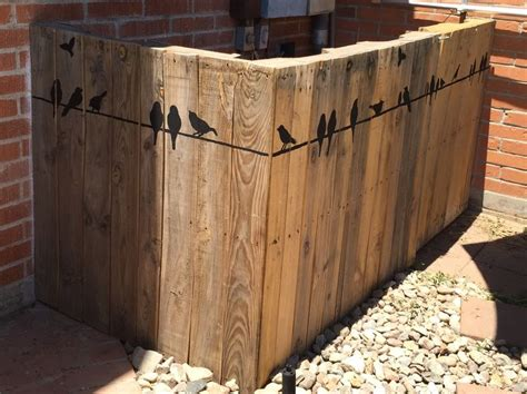 To Hide The Pool Pump Equipment We Built A Fence From