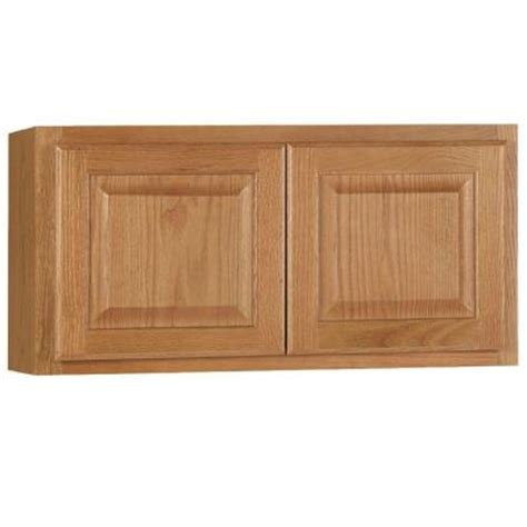 unfinished kitchen wall cabinets hton bay 30x15x12 in hton wall bridge cabinet in 6631