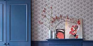 Papier Peint Japonisant : papier peint nos plus belles inspirations marie claire ~ Premium-room.com Idées de Décoration