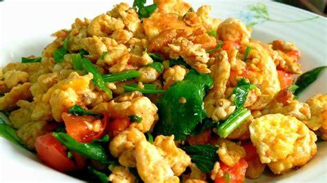 คั่วแห้งไข่ ( ไข่เจียวเรียกพี่ ) เมนูบ้านๆแต่อร่อยไม่ ...