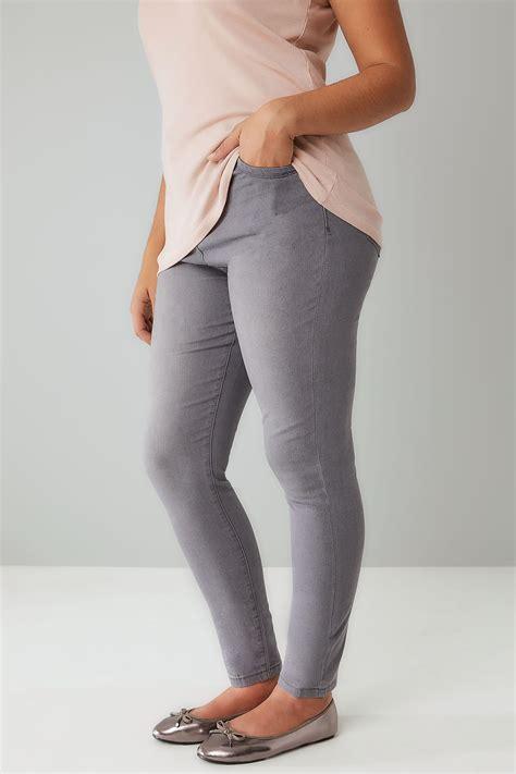 mid grey skinny ava jeans  size