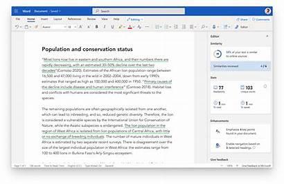 Word Microsoft Improve Writing Announces Tool Checker