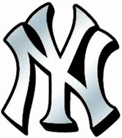 Yankees York Baseball Water Nail Slide Clipart