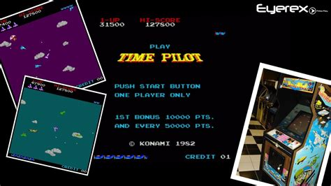 Time Pilot Arcade Game Youtube