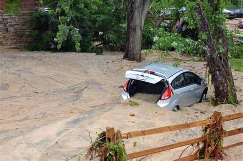 flood ellicott flooding maryland flash md floods howard county street ctv devastating rip wtop left damage cars through riverbank swept