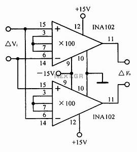 U0026gt  Other Circuits  U0026gt  A Differential Input Differential