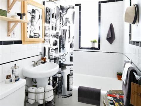 teen boys barbershop style bathroom diy