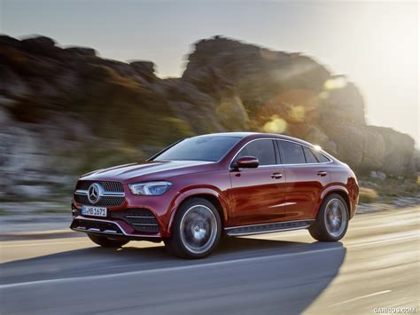 Gallery of 62 high resolution images and press release information. 2021 Mercedes-Benz GLE Coupe (Color: Designo Hyacinth Red Metallic) - Front Three-Quarter ...