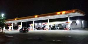 Shell Gas Station In San Antonio CSK Canopy 100 Watt