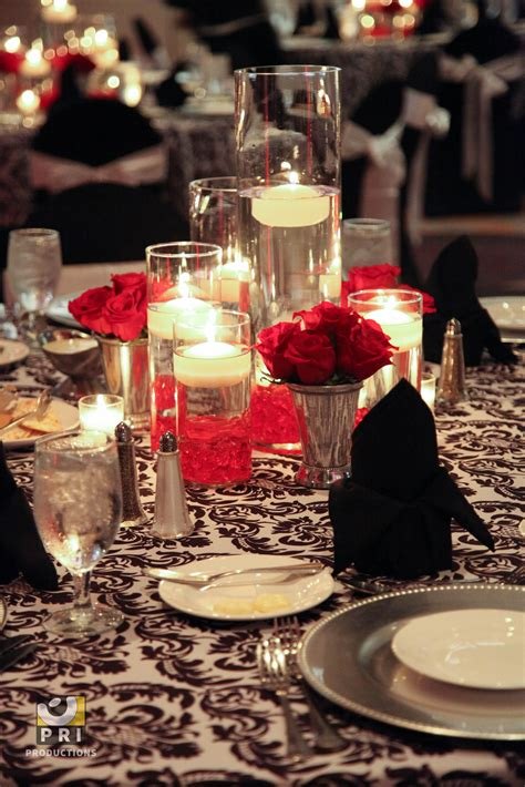 floating candle centerpieces for wedding reception