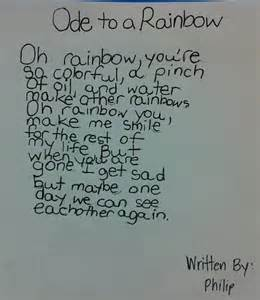 Ode Poem Examples