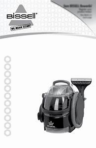 Bissell Spotclean Pro 3624 Owner U0026 39 S Manual