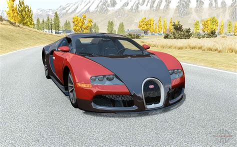 Sgmods, updated daily since 2011. Bugatti Veyron 16.4 2006 pour BeamNG Drive