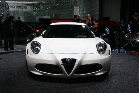 Alfa Romeo New York by New York 2014 2015 Alfa Romeo 4c Live The