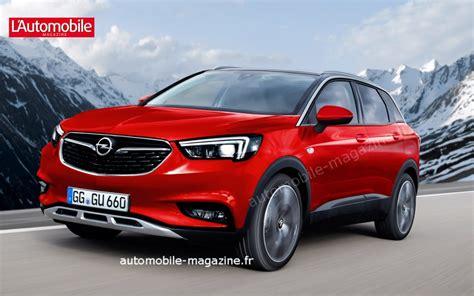 2019 Opel Suv by Un Grand Suv Chez Opel 224 L Horizon 2019 L Automobile