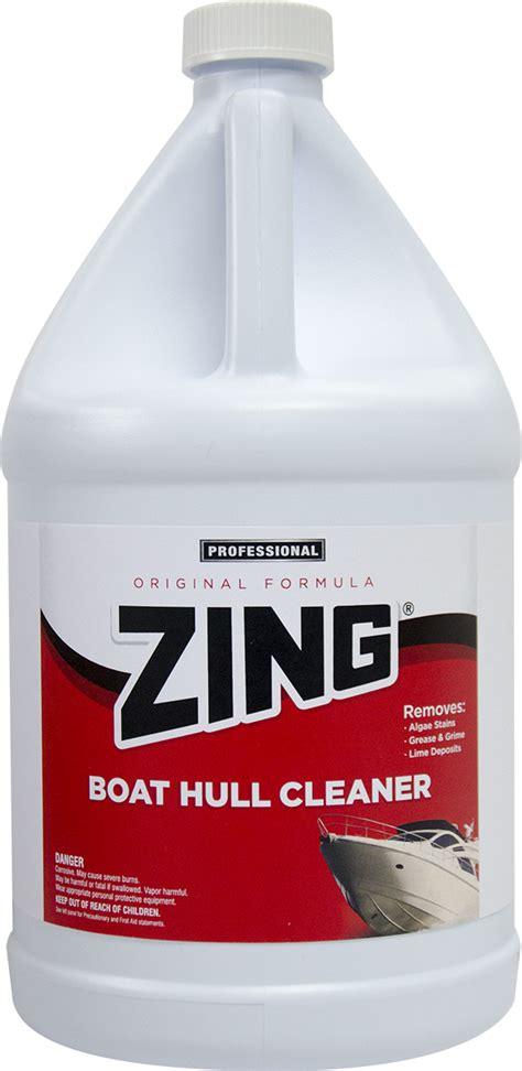 zing original formula boat hull cleaner  nyco