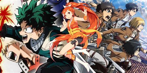 Attack On Titan And My Hero Academia First Seasons Removed