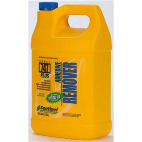 Tile Adhesive Remover Home Depot by Sentinel Formula 747 Plus 128 Oz Adhesive Remover Spi747