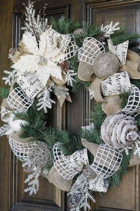 christmas wreaths decorating ideas    feed