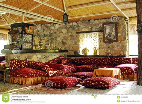 Karpet Max Plovdiv traditional turkish restaurant interior stock photo