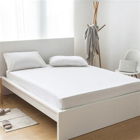 aliexpress com buy 100 cotton solid color bed sheets