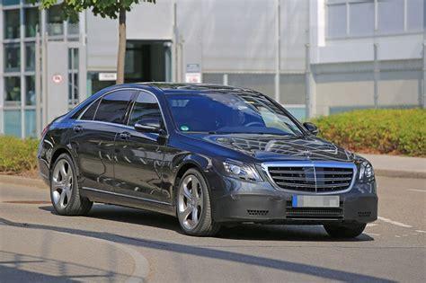 Spyshots Mercedes Classe S (2017)