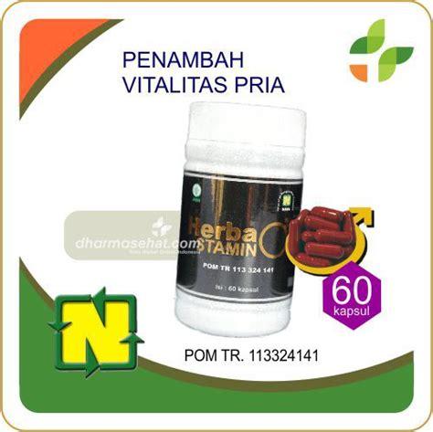 obat kuat  tahan  herbastamin herbal vitalitas pria terbaik