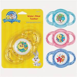 Looney Tunes Water Filled Teether Taz Tweety Bird Bugs ...
