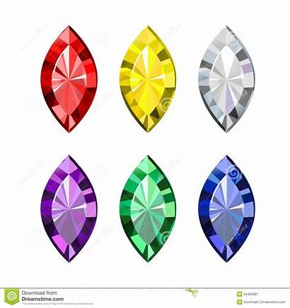 Gems Clipart Colored Gemstone Background Gem Clip