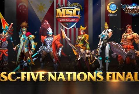 Mobile Legends Siapa Bakal Juara Kejohanan Msc