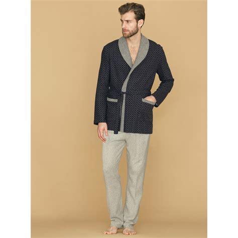 veste de chambre homme homme robe de chambre peignoir homme veste d 39 intérieur