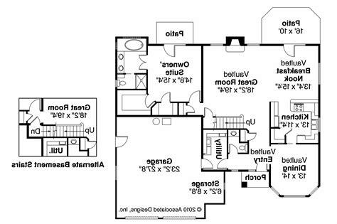 breakfast nook bar tuscan house plans mansura 30 188 associated designs