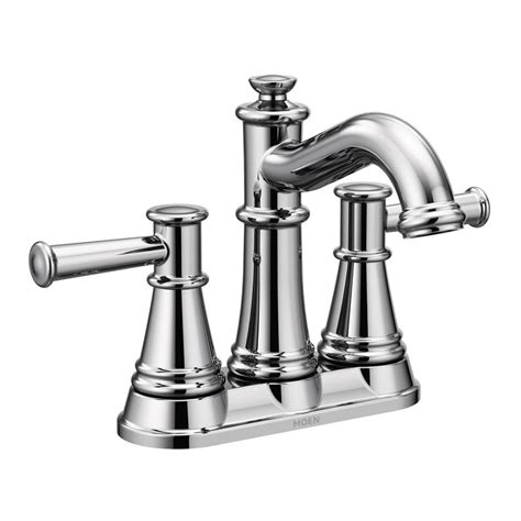 Faucet Depot by Moen Belfield 4 In Centerset 2 Handle Bathroom Faucet In