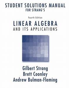 Pdf U22d9 Student Solutions Manual For Strang U0026 39 S Linear Algebra