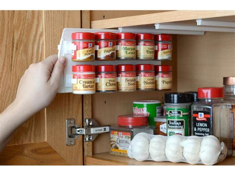 how to organize your kitchen spices 15 creative spice storage ideas hgtv 8784