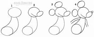 How To Draw Mickey Mouse (Step by Step Pictures) | Cool2bKids