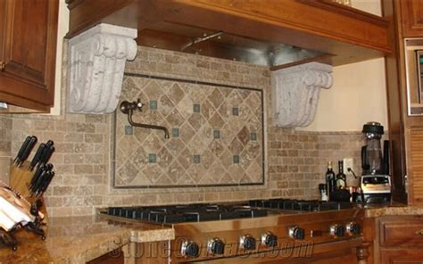 install kitchen floor tile how to install a travertine backsplash travertine pavers 4717